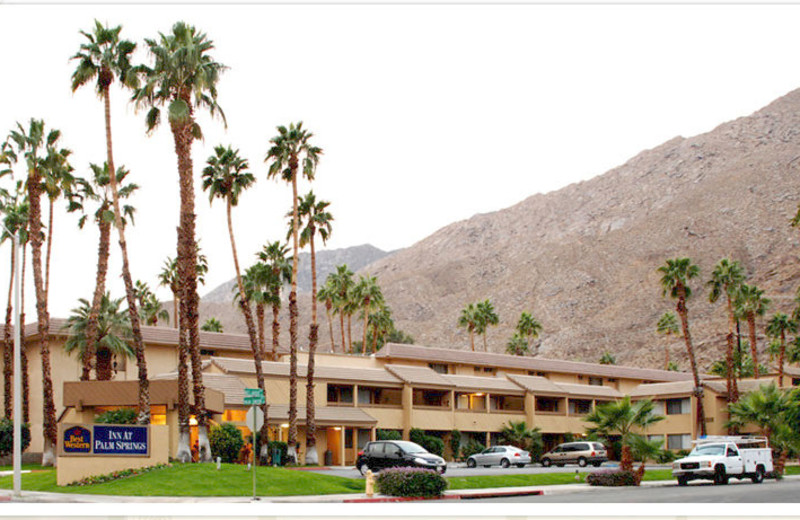 Exterior view of Best Western Inn at Palm Springs.