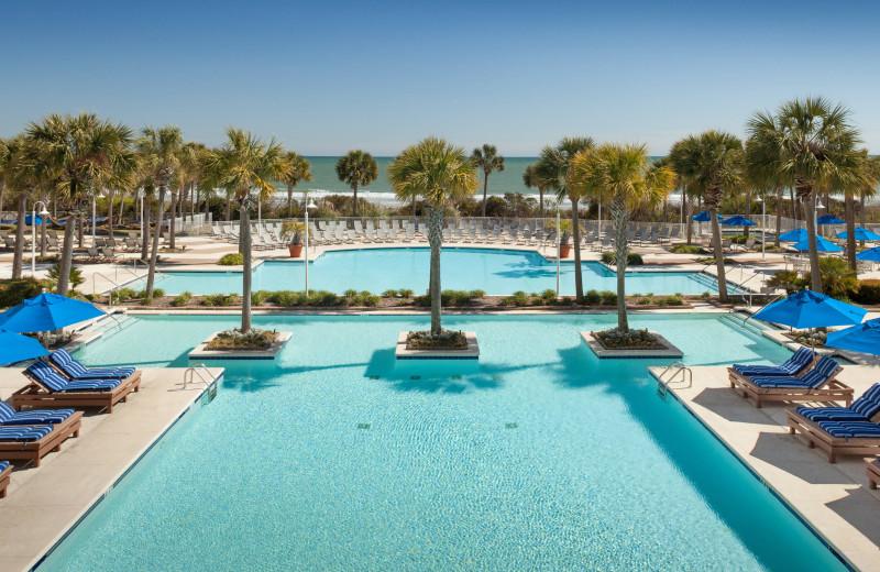 Pool at Myrtle Beach Marriott Resort