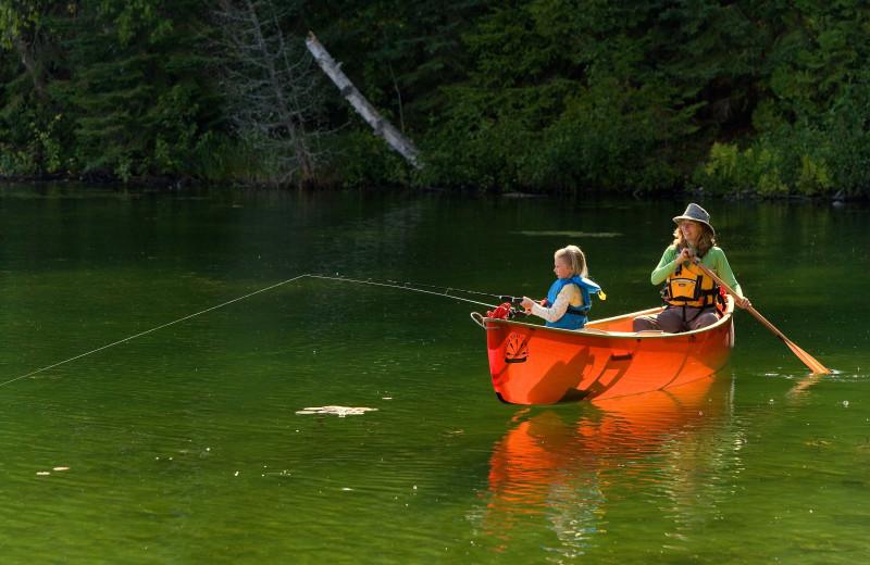 Fishing at Arcadia Coves.