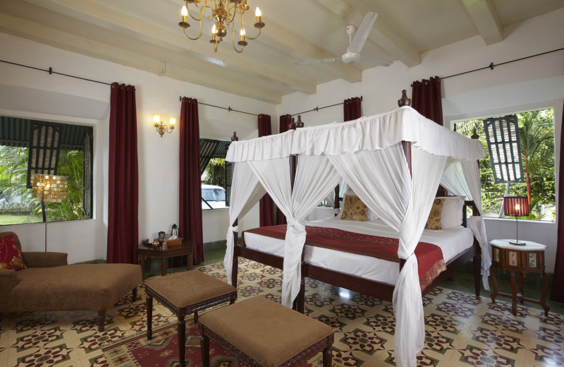 Guest room at Siolim House.