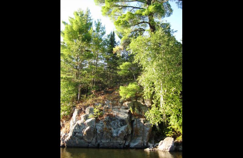 Scenic view at Birch Grove Resort.