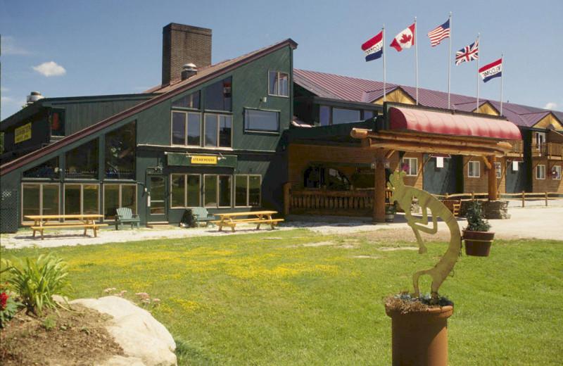 Exterior view of The Mountain Inn.
