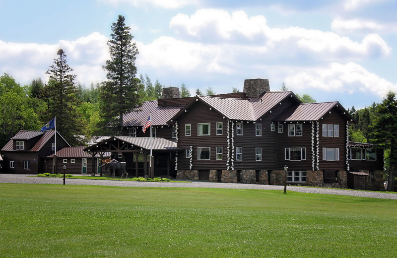 Exterior view of Unity College Sky Lodge.