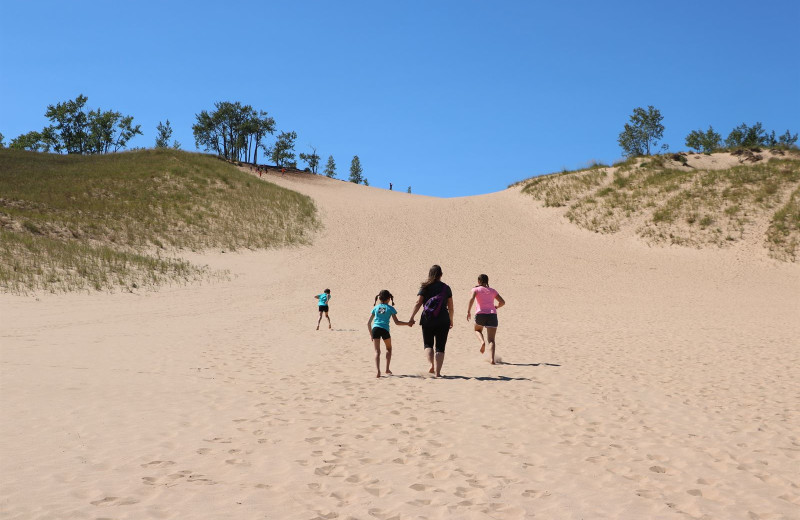 Dunes near Pointes North Beachfront Resort Hotel.