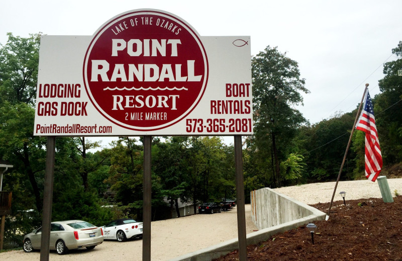 Exterior view of Point Randall Resort.