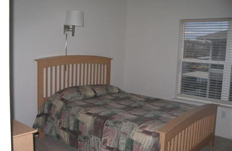 Bedroom at Robin's Resort.