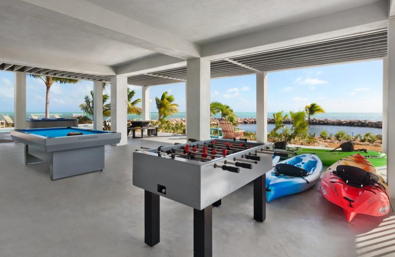 Rental game room at Florida Keys Vacations Inc.