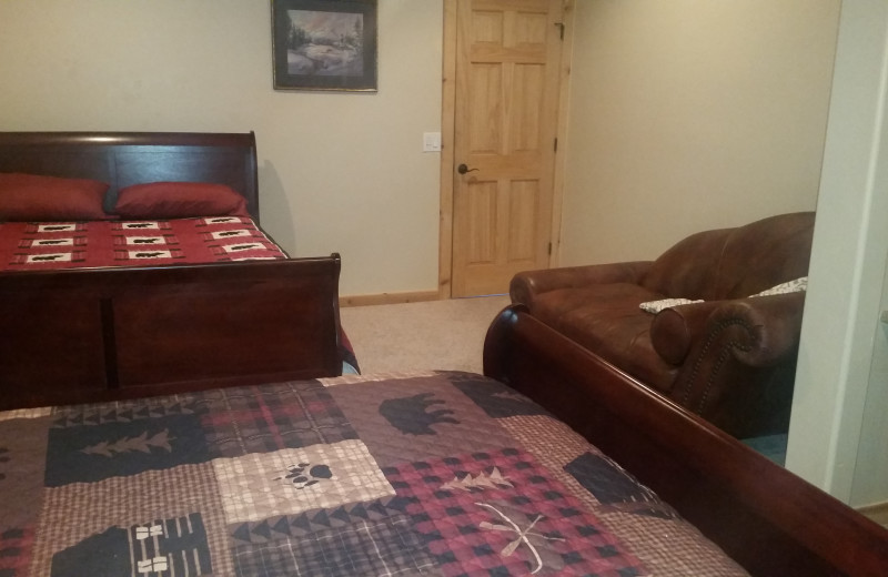 Guest Room at Tall Pines Getaway