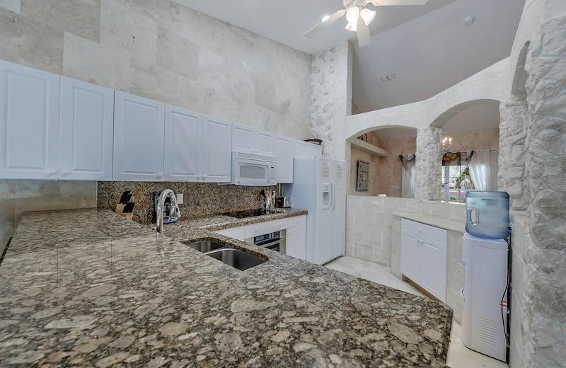Rental kitchen at MHB Property Management.