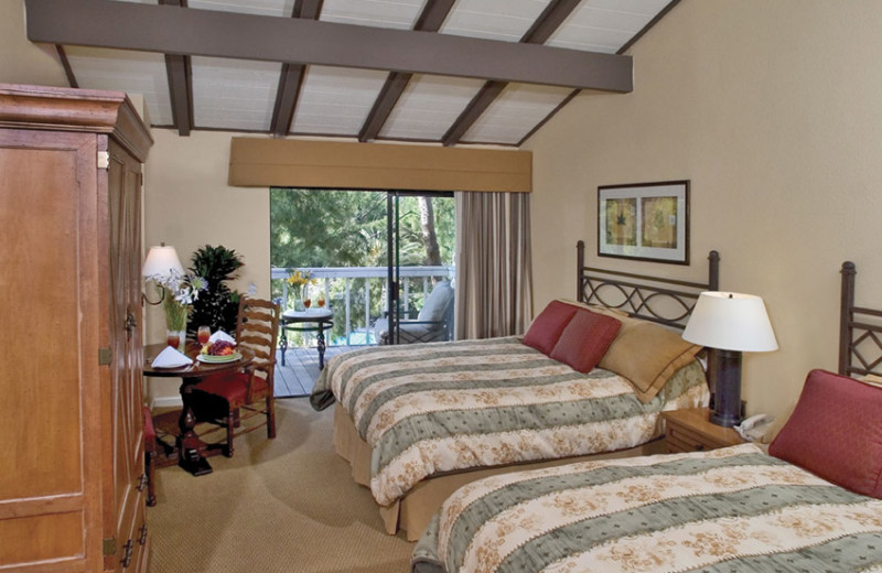 Guest room at Pala Mesa Resort.