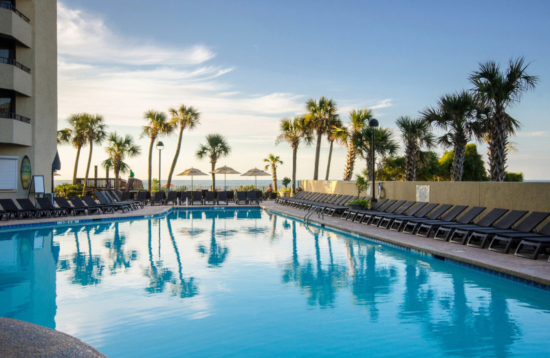 Outdoor pool at Ocean Reef Resort.