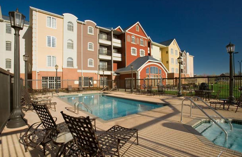 Outdoor pool at Residence Inn Joplin.