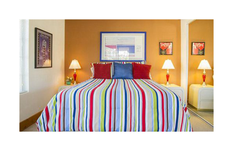 Guest room at Mesquite Country Club.