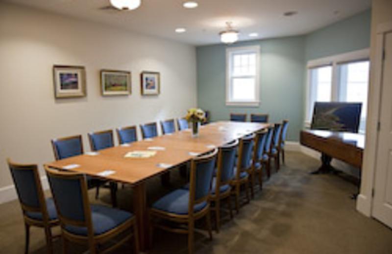 Meeting Table at Beachmere Inn