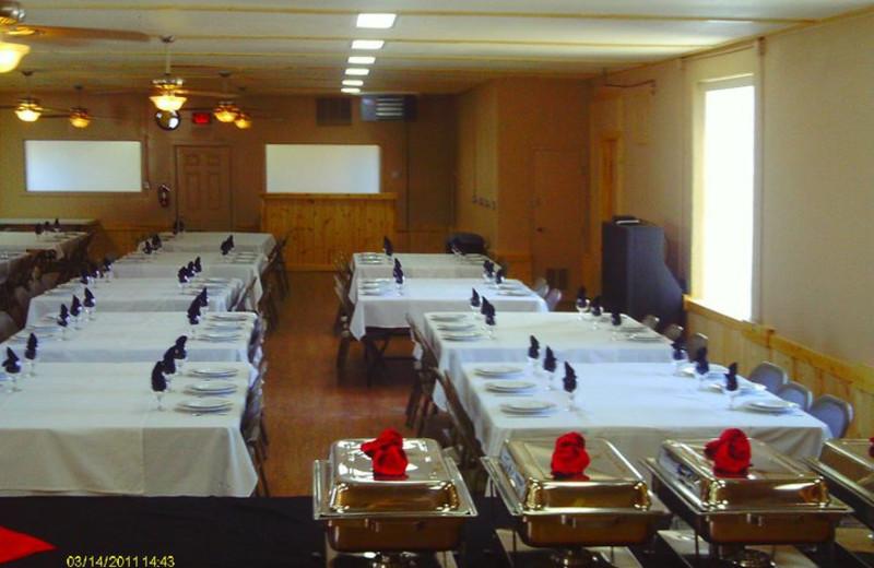Dinning room at Colorado Springs KOA.