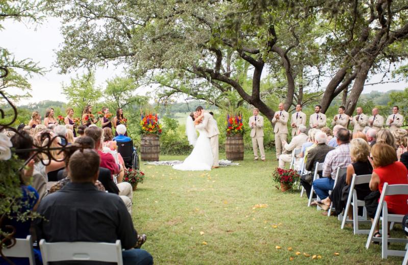Weddings at Joshua Creek Ranch.