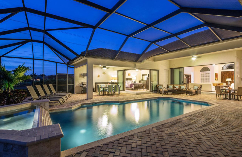 Rental pool at CNE Vacation Rental.