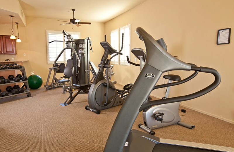 Fitness Center at Wyndham Ranch Resort