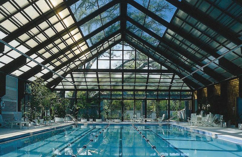 Indoor pool at Omni Amelia Island Plantation.