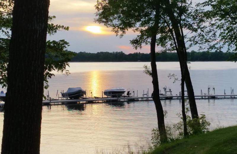 Lake view at Eden Acres Resort.