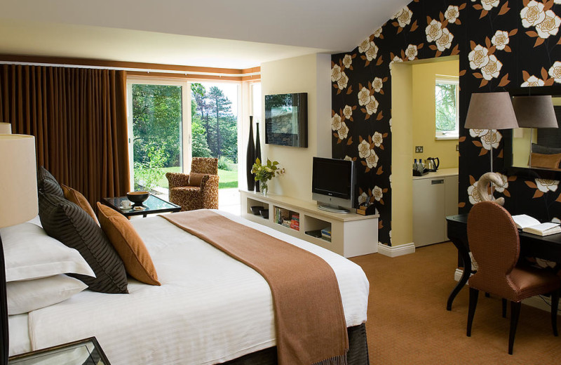 Guest room at Gilpin Lodge Country House Hotel and Restaurant.