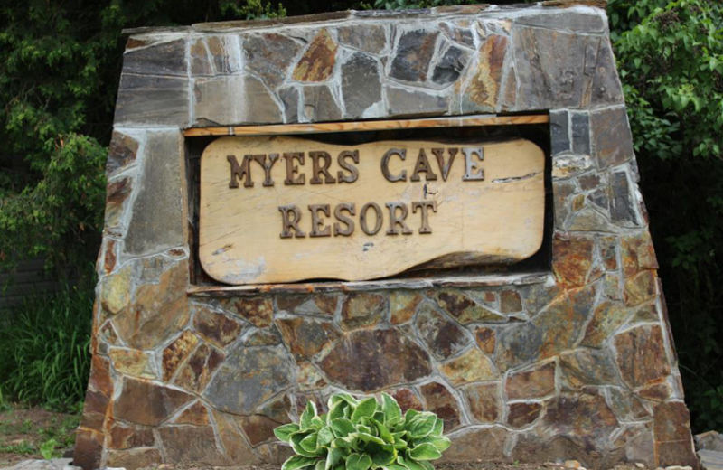 Welcome to Myers Cave Resort.
