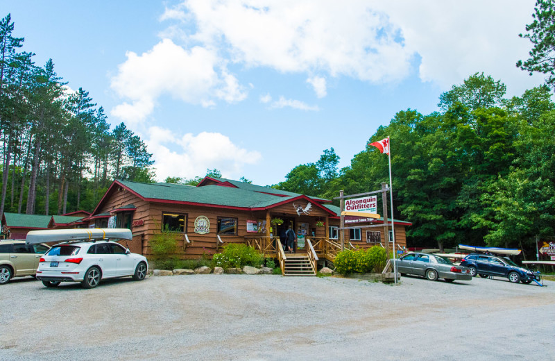Outfitters at Wolf Den Hostel and Nature Retreat.