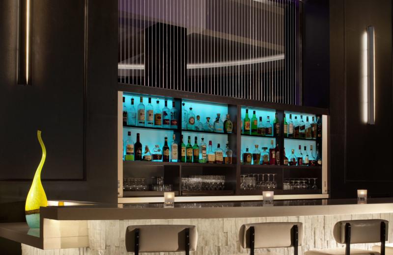 The bar at La Concha Hotel & Spa.