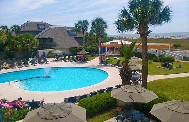 Pool at Fripp Island Golf & Beach Resort.