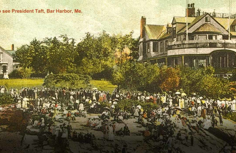 Historical event at Bar Harbor Inn & Spa.