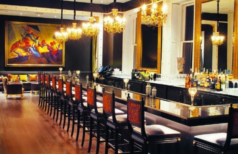 The bar at Mansion on Forsyth Park.
