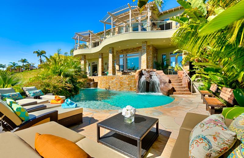 Rental pool at Seabreeze Vacation Rentals, LLC.