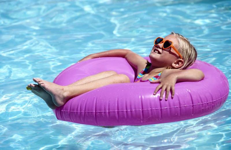 Outdoor pool at TRYP by Wyndham Isla Verde.