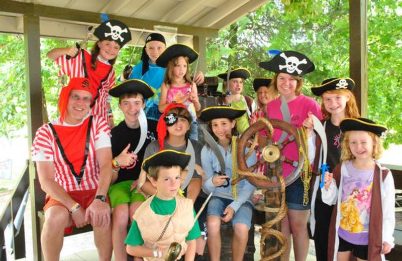 Kid fun at Yogi Bear's Jellystone Park Marion.