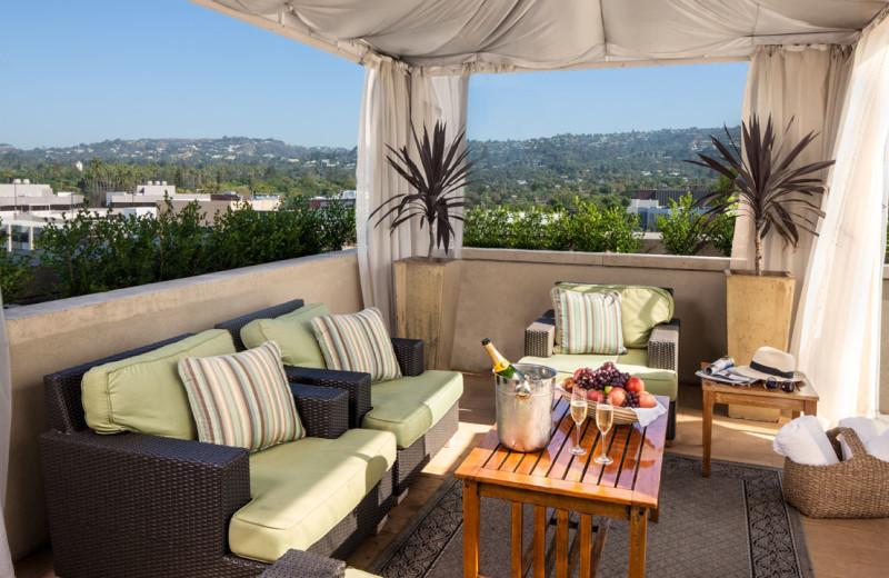 Cabana at Raffles L'Ermitage Beverly Hills.