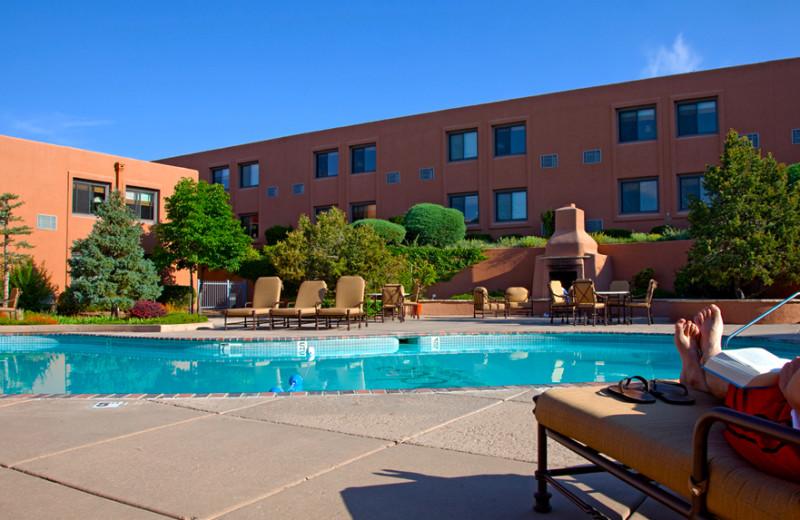Outdoor pool at The Lodge at Santa Fe.