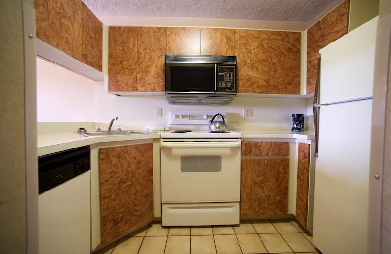 Guest kitchen at Split Rock Resort & Golf Club.