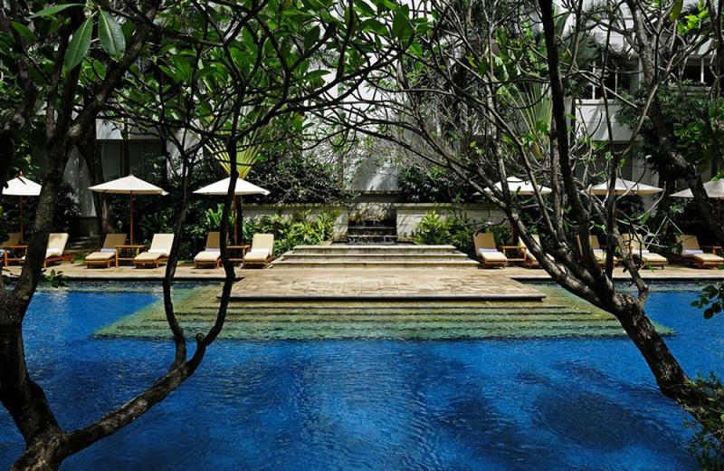 Outdoor pool at The Dharmawangsa.