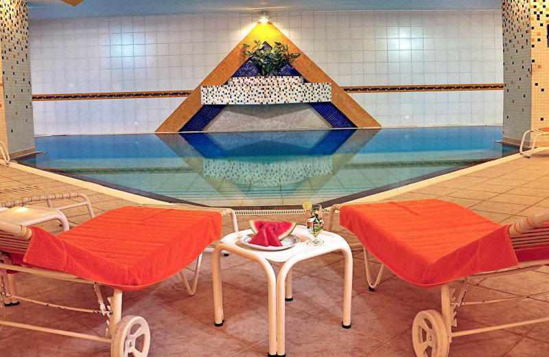 Pool at Hotel Europa.