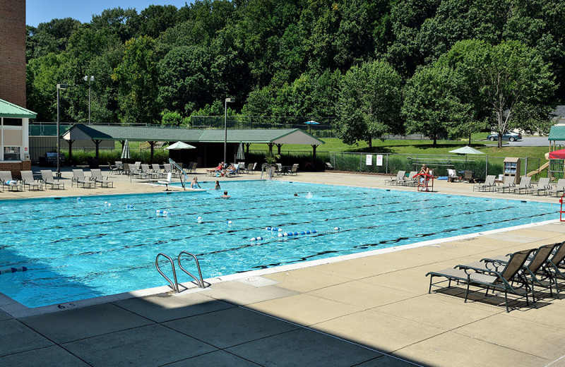 Swimming Pool at Turf Valley Resort