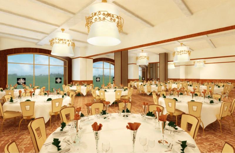 Wedding reception at Del Lago Resort