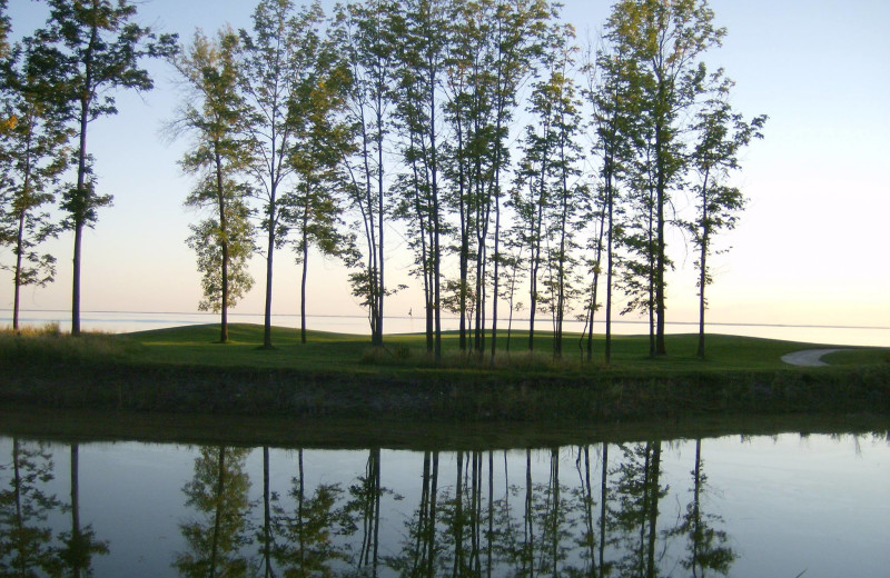Golf course at Buffalo Point Resort.