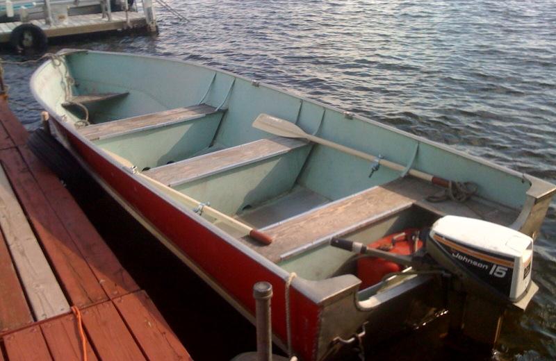 Boat rental at Radtke's Sabinois Point Resort.
