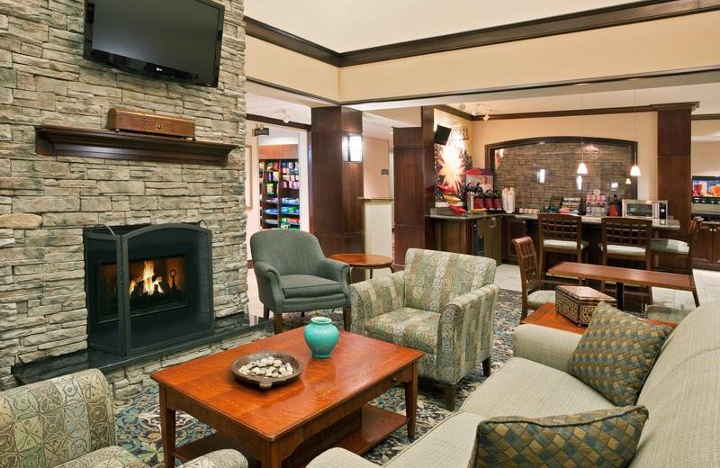 Lobby at Staybridge Suites Stow.
