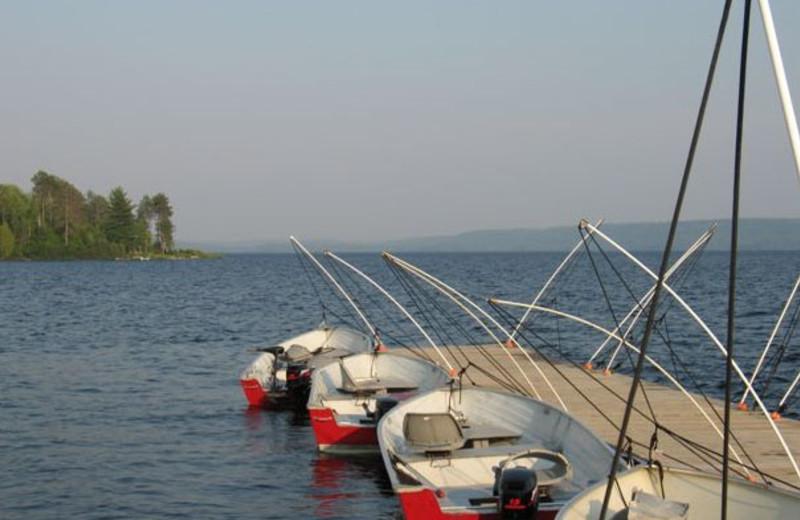 Fishing at La Réserve Beauchêne.