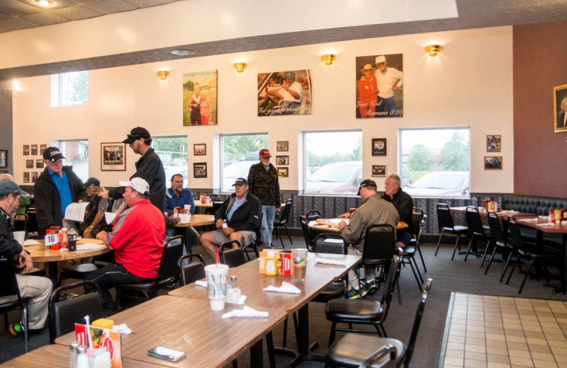 Dining at Bright Leaf Golf Resort.