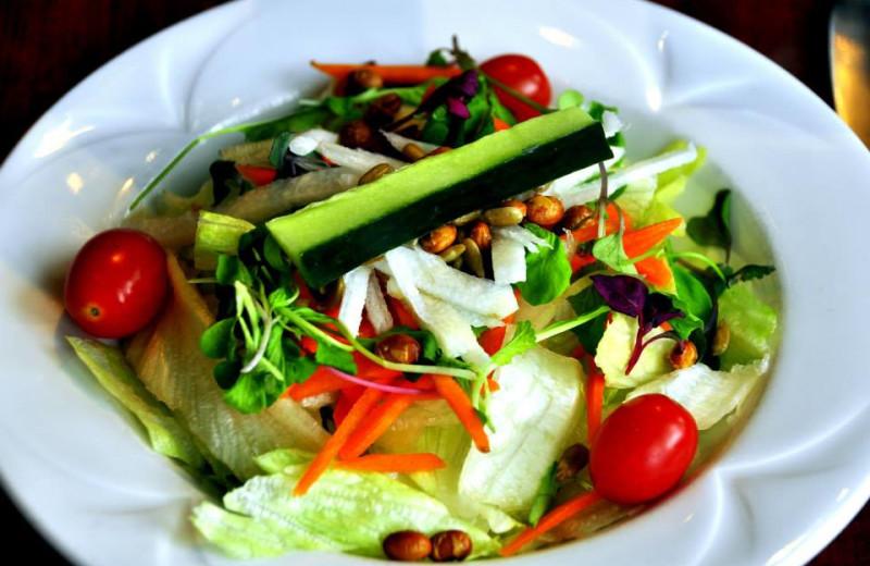 Salad at Sawmill Creek Resort.