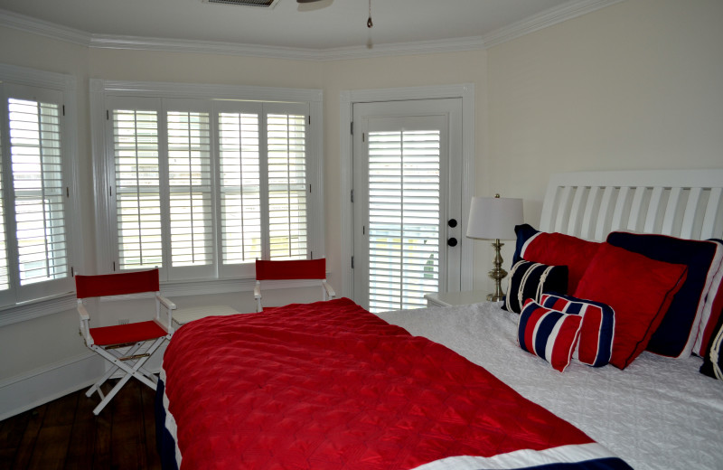 Guest room at The Inn at Bald Head Island.