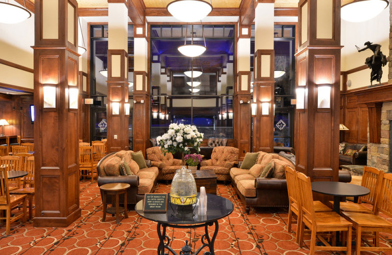 Lobby at The Lodge at Big Sky