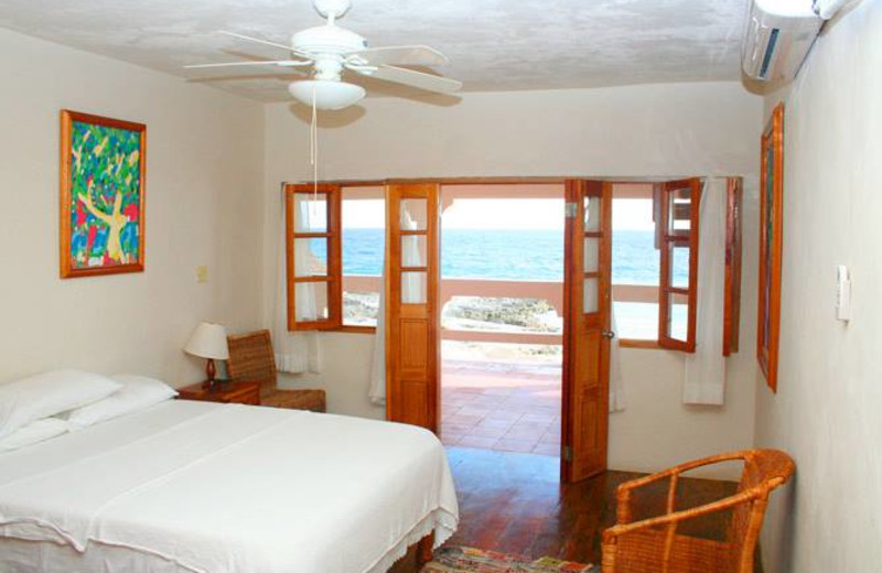Guest room at Coral Cove Resort.